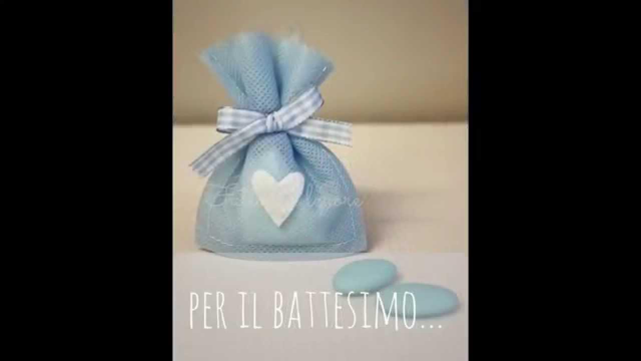 Preferenza sacchetti bomboniere nascita o battesimo - YouTube CS55