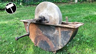 Antique Grindstone Restoration