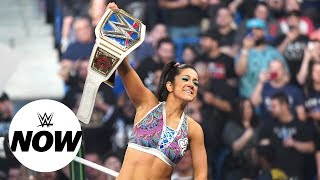 Bayley cashes in to become SmackDown Women's Champion: WWE Now