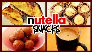 10 BEST USES OF NUTELLA 🍪🍩🍞☕️