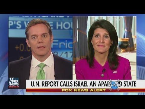 'U.S. Has Israel's Back Every Time!' US Ambassador to UN, Nikki Haley II VFNtv II e