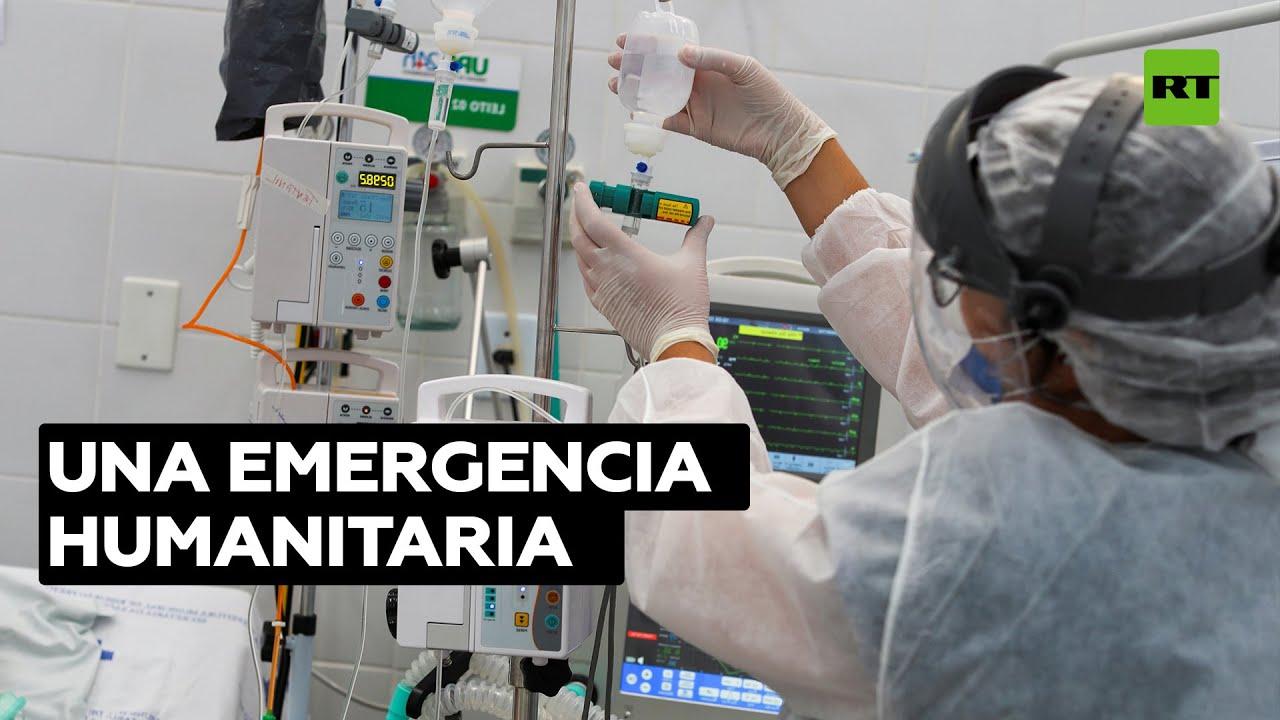 Médicos Sin Fronteras urge a Brasil a adoptar una respuesta coordinada contra la pandemia
