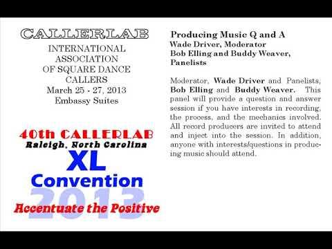 2013 CALLERLAB Conv Producing Music Q & A