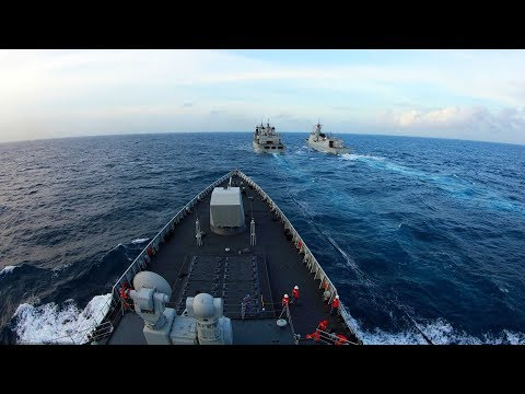 Chinese naval fleet returns from escort mission