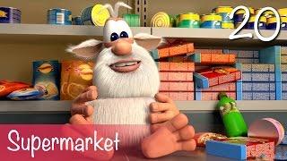 Booba - Supermarket - Episode 20 - Cartoon for kids