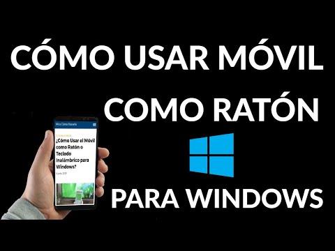 Cómo Usar el Móvil como Mouse o Teclado Inalámbrico en Windows