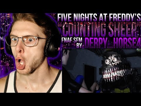 """Vapor Reacts #876   [FNAF SFM] FIVE NIGHTS AT FREDDY'S SFM """"Counting Sheep"""" By Derpy_Horse4 REACTION"""