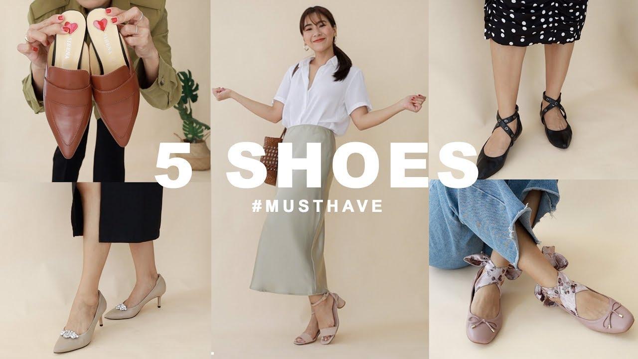 5 รองเท้า!! ที่สาวทำงานต้องมี   WEARTOWORKSTYLE