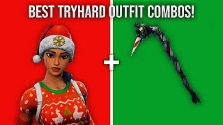 These Are The BEST TryHard Outfit Combinations In Fortnite!