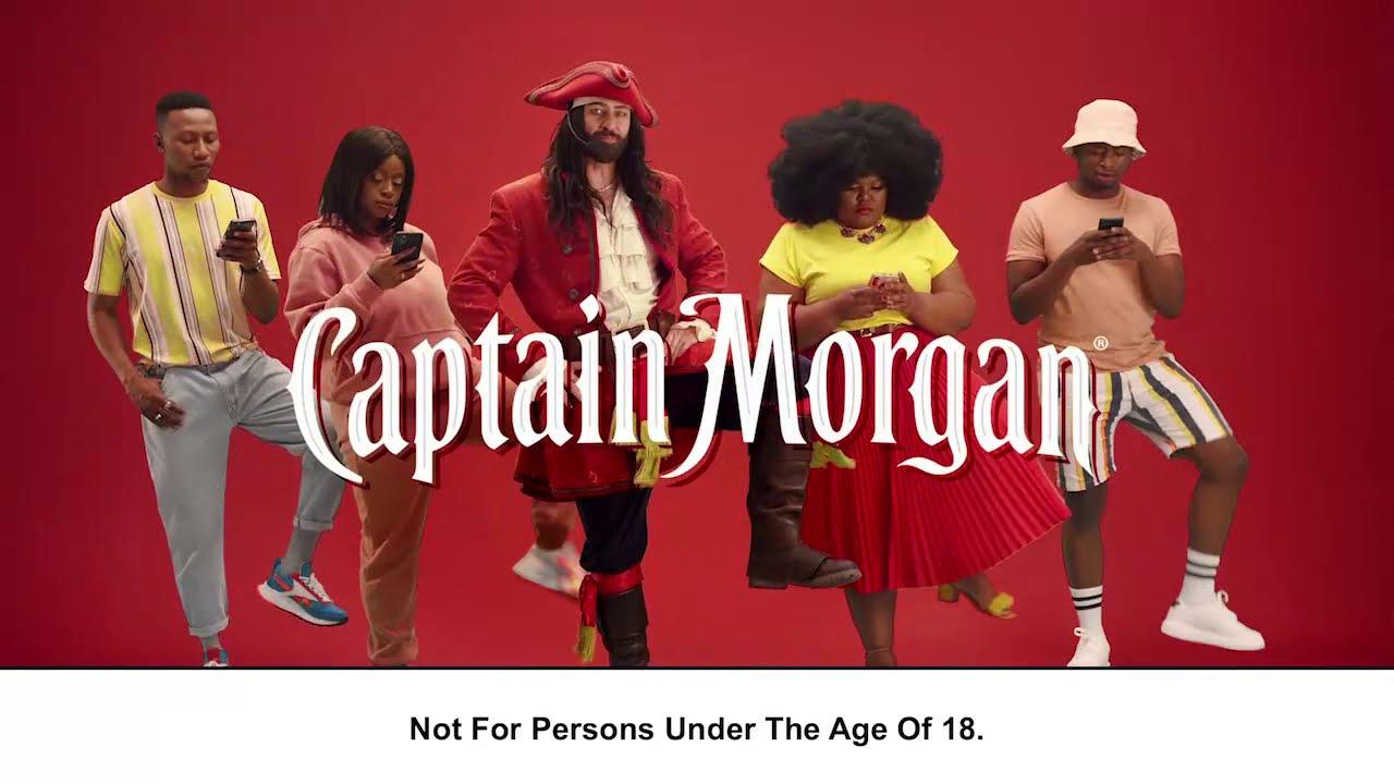 "Captain Morgan ""CAPTAIN YOUR WEEKEND"""