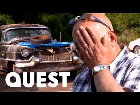 Bernie and Mario find a Cadillac  Classic Car Rescue