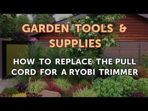 How To Replace The Pull Cord For A Ryobi Trimmer