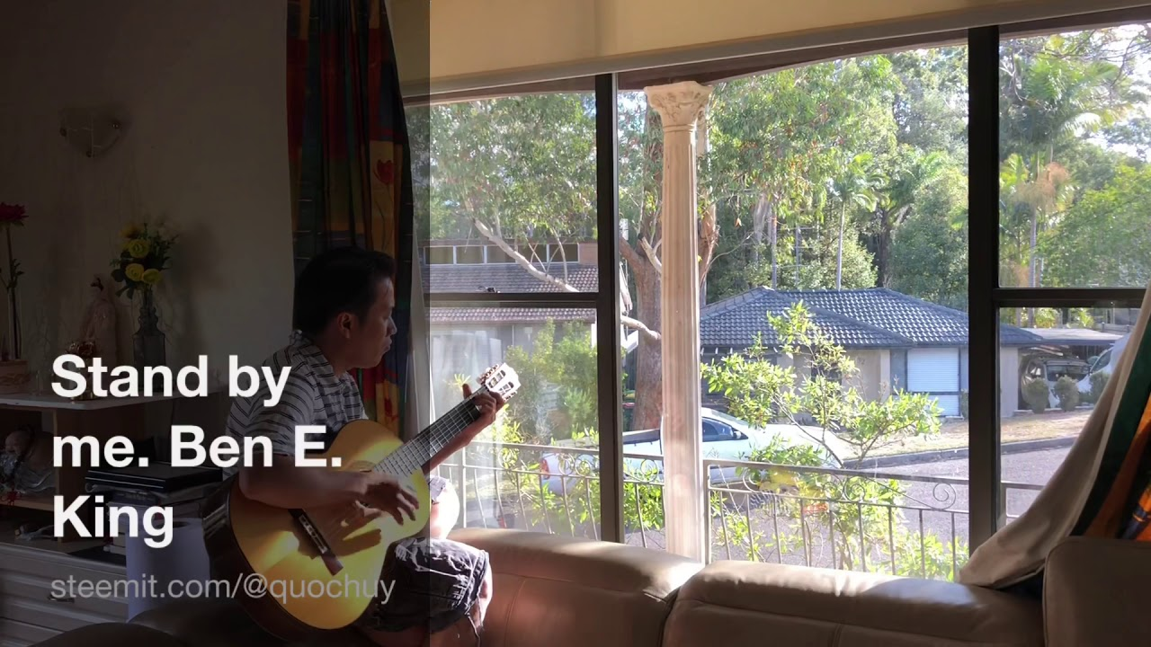 """""""Stand by me"""" guitar cover"""
