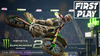 Monster Energy Supercross 2: Official Video Game | FIRST PLAY & REVIEW