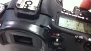 CANON EOS 5D3 5D2 7D Comparison of the shutter sound