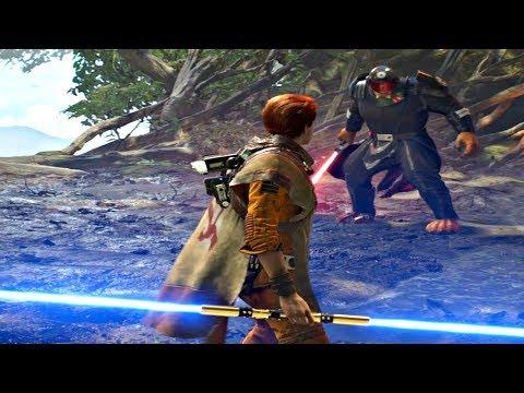 Star Wars Jedi Fallen Order - The Ninth Sister Boss Fight #4 (Star Wars 2019) PS4 Pro