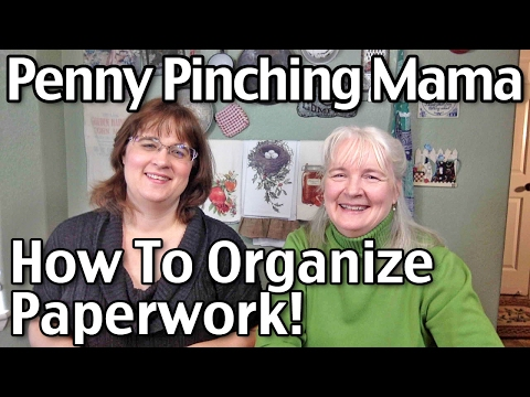 How to Organize Paperwork - Bills, Mail, School Papers, Tax Documentation And More!