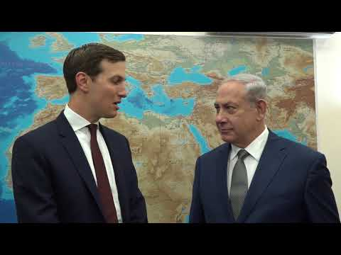 Special Advisor to the President Jared Kushner meets with PM Netanyahu in Tel Aviv