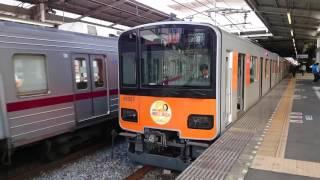 東武51007FももクロHM(黄/玉井詩織)の発車シーンです。たまいしおりさん...