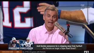 The Herd Colin Cowherd [BREAKING NEWS] Josh Gordon announces he is stepping away from football