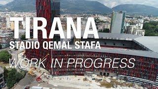 Nuovo Stadio di Tirana   Work in progress