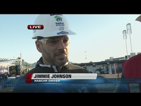Interview with Jimmie Johnson