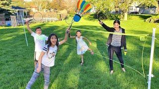 Fun Outdoor Game Challenge with HZHtube Kids Fun