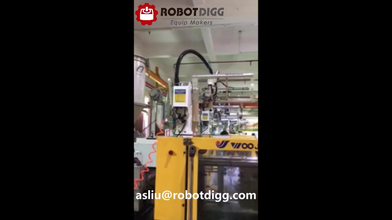 Injection Molding Machine Oblique Arm Robot