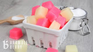 How to Make Sugar Scrub Cubes