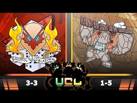 Pokemon ORAS WiFi Battle   Bristol City Blazikens vs Long Island Regirockies   UCL W7S2