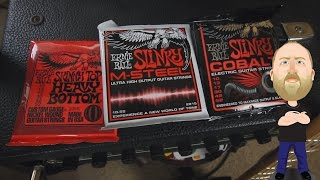 Ernie Ball String Shootout!