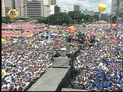 Asi Fue El Cierre De Campana De Capriles En Caracas Parte