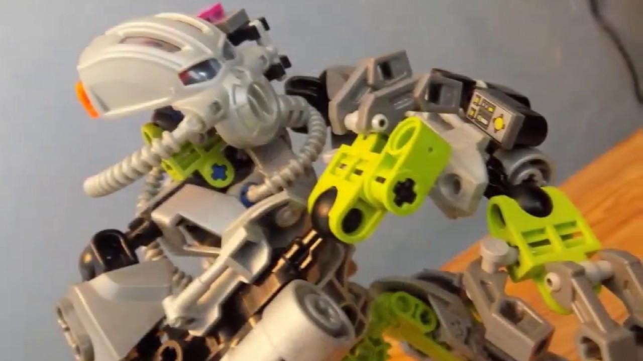 Bionicle Moc Fordak Cyborg Toa Of Air Youtube