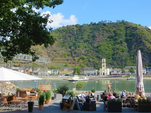 St. Goar (Sankt Goar) - gem of the Rhine River Valley, Germany