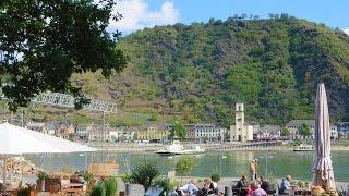 St. Goar (Sankt Goar) - gem of the Rhine River Valley, Germany