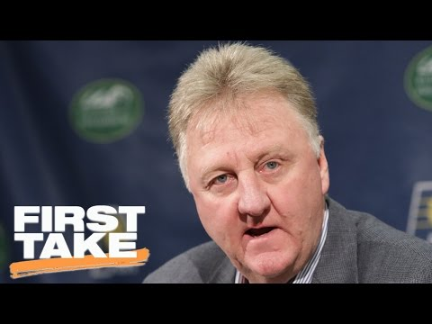 Stephen A. Smith On Larry Bird As Pacers' President   Final Take   First Take   April 24, 2017