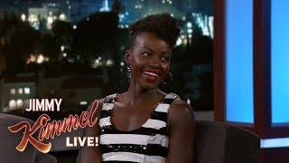 Lupita Nyong'o Didn't Think Groundhog Day Was Real