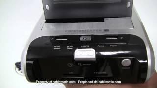 Docking Station SATA Communicator D2 con eSATA,USB2,hub,slot distribuido por CABLEMATIC ®