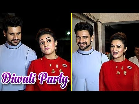 Divyanka Tripathi And Vivek Dahiya DIWALI CELEBRATION | Diwali 2017