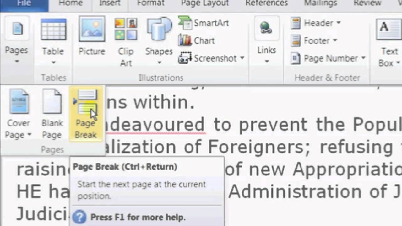 Microsoft Word Help!?