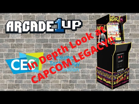 Arcade1up: CES 2021 - Capcom Legacy Edition Announced!  Street Fighter Goodness!!! from PsykoGamer