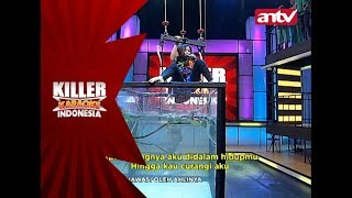 Apapun yang terjadi, Aini tetap menyanyi ditemani iguana! - Killer Karaoke Indonesia