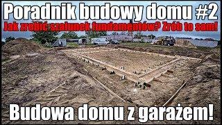Poradnik budowy domu, krok po kroku. Jak zrobić dokładny szalunek fundamentów?  dzień #2 18+