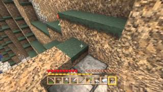 Minecraft deluxe island part 7 finishing the stair case