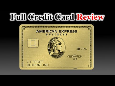 Credit Card Review | American Express BUSINESS Gold Card
