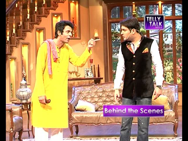 UNCUT Comedy Nights with Kapil : Sunil Grover as Kapil Sharma's servant in the show | Gutthi Travel Video