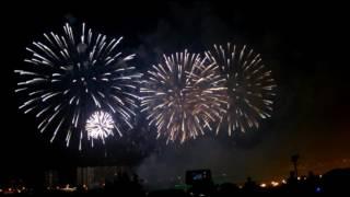 Фестиваль фейерверков в Братеево 2016, финал.
