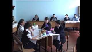 Открытый урок английского языка Город Ширван 6с класс