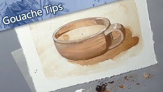 [ How to Use Gouache ] // Tutorial for Beginners — Tea to Butter Method // Mary Sanche
