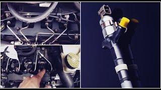 tester et changer injecteur Moteur Ford/citroën 2.0/2.2/2.4 TDCi